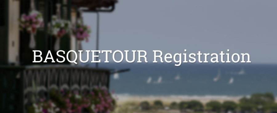BASQUETOUR Registration