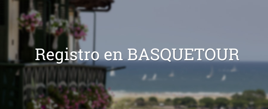 Registro en BASQUETOUR